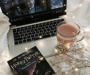 coffee, harrypotter, and light image