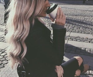 cozy, fashion, and hair image