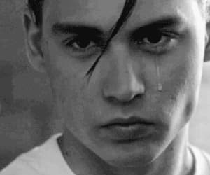 cry baby, gif, and johnny depp image