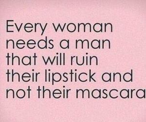 love, woman, and lipstick image