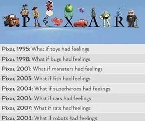 disney, pixar, and funny image