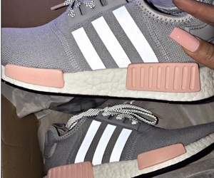 adidas, pink, and exercise image