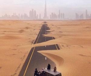 desert, Dubai, and désert image