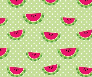 watermelon, cute, and frut image