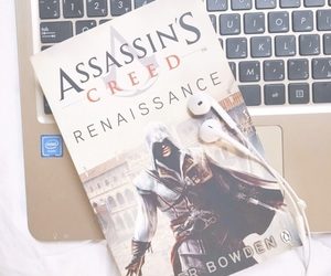 assassin, book, and creed image
