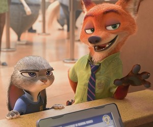 animals, fox, and judy hopps image