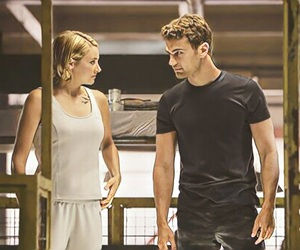 allegiant, divergent, and fourtris image