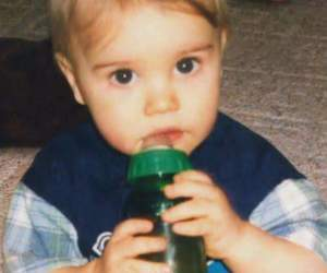 baby and justin bieber image
