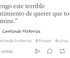 frases, tumblr, and depresion image