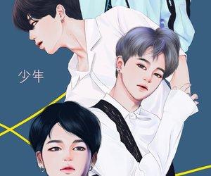 jin, kim taehyung, and bts image