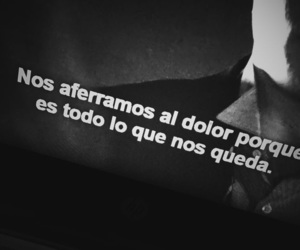 black and white, frases, and pain image