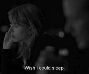 sleep, black and white, and text image