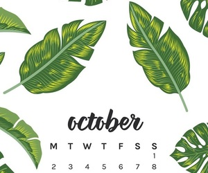 calendar and october image