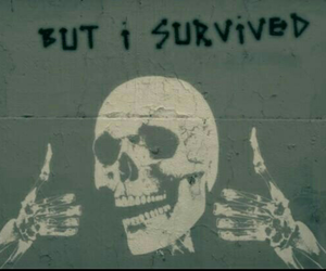 grunge, survive, and alive image