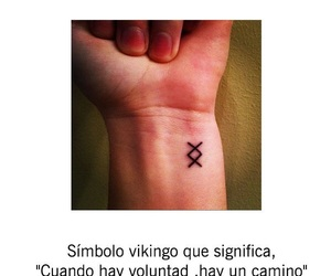 tattoo, vikingos, and camino image
