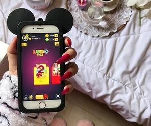 arab, iphone, and ludo image