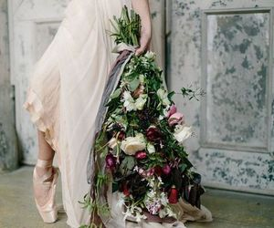 bouquet, ballerina, and beautiful image