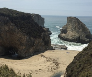 beach, california, and Santa Cruz image