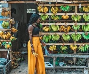 africa, black girl, and melanin image