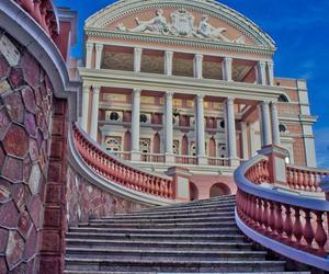 travel, brasil ópera house, and manaus ópera house image