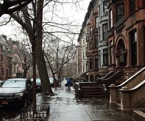 brown, rain, and city image