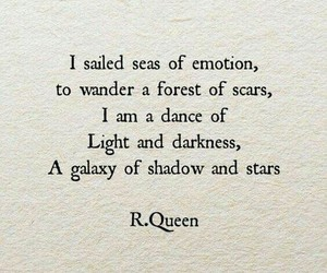 dark, emotions, and text image