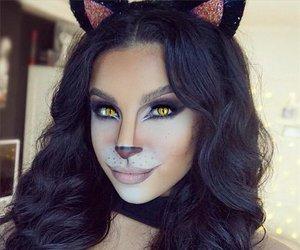Halloween, make-up, and makeup image
