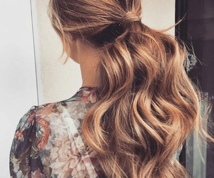 beautiful, curly, and goals image