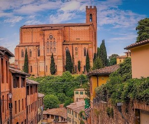 city, italy, and medieval image