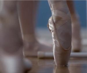 backstage, ballet, and ballet slippers image