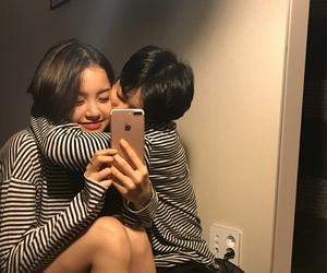 korean, ulzzang, and asian couples image