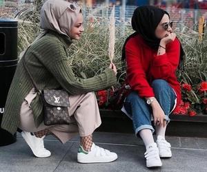 cool, fashion, and girls image