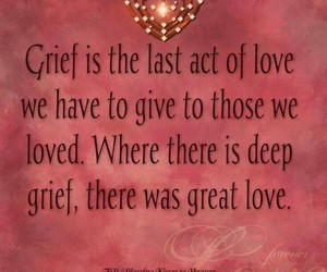 grief, coping with loss, and angel in heaven image