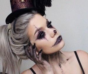 fashion, Halloween, and black image