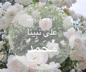 islam, muslim, and الرسول image