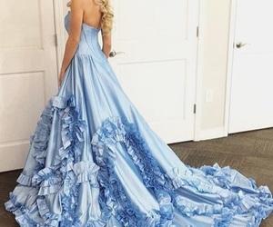 blonde, dresses, and fantasy image