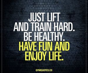 gym, work out, and healthy image
