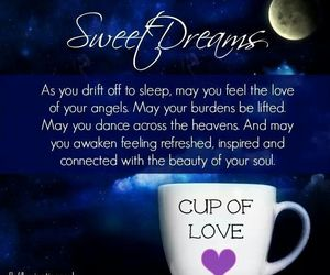 cup, dreams, and heart image
