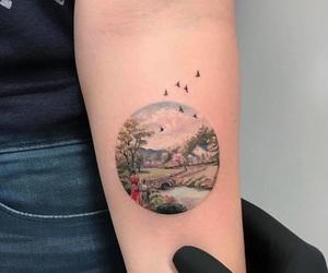 tattoo, bird, and tatto image