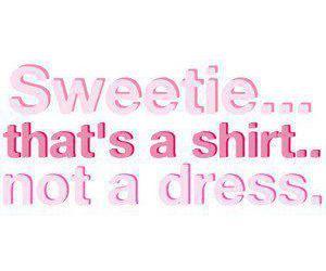 dress, funny, and shirt image
