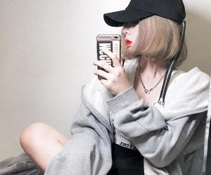 girl, ulzzang, and fashion image
