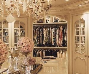 luxury, wardrobe, and closet image