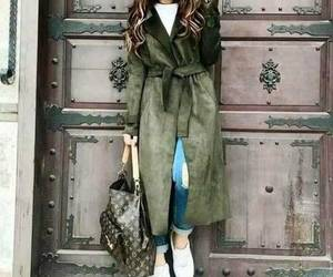 ankle boots, girl, and jacket image