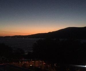 dark blue, Greece, and night image