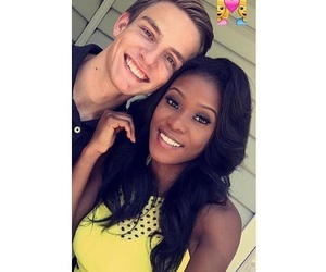 couples, interracial, and relationships image