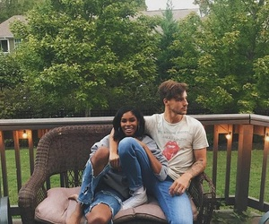 couples, interracial, and bwwm image