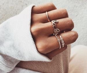 jewelery, jewelry, and ring image