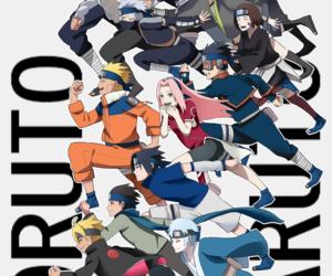 sakura, naruto uzumaki, and kakashi hatake image