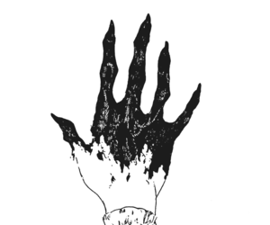 manga and hand image