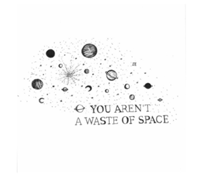 header, black, and space image